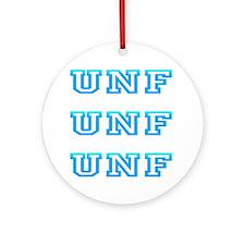 unf Round Ornament