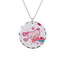 Piquelle-pig-pink-T Necklace