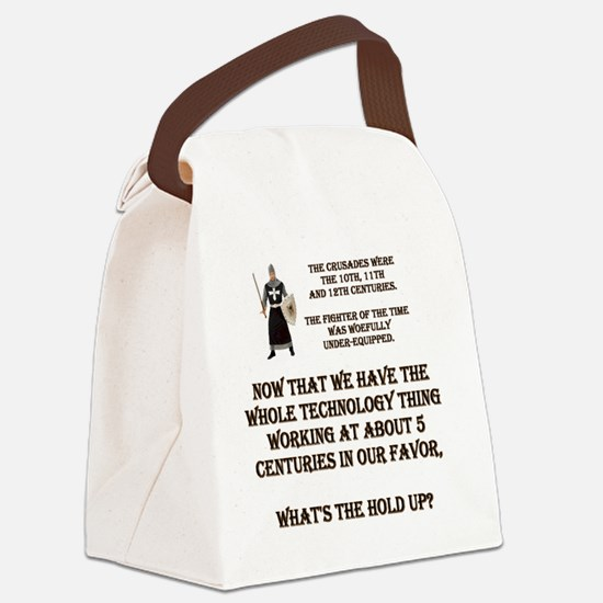 WOEFULL.gif Canvas Lunch Bag