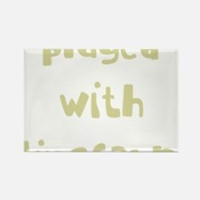 playedwithdinosaurs_new_black Rectangle Magnet
