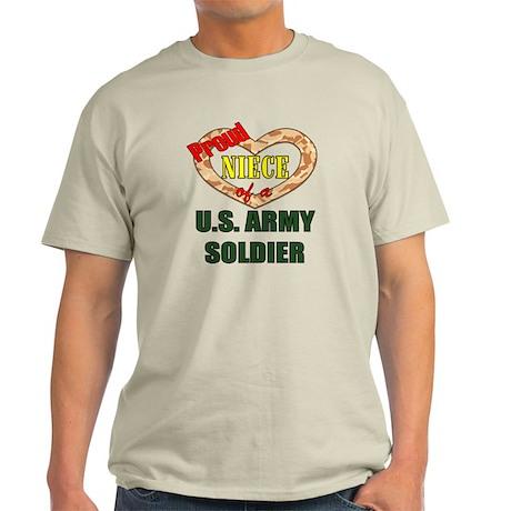 Proud Army Niece Light T-Shirt