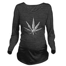 Steel (Final)(2) Long Sleeve Maternity T-Shirt