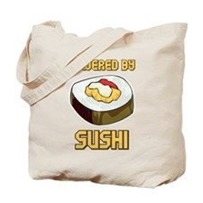 Powered By Sushi Tote Bag