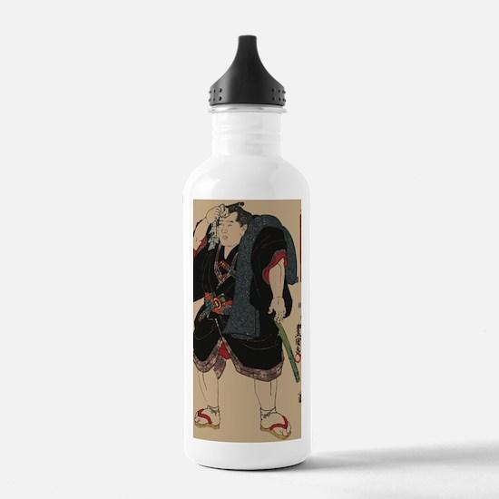 Sumo wrestler Somagaha Water Bottle