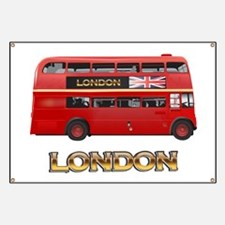 Red Bus-London Banner