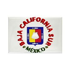 Baja California Sur Rectangle Magnet