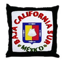 Baja California Sur Throw Pillow
