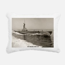 corsair agss framed pane Rectangular Canvas Pillow