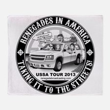 Renegades In America Throw Blanket