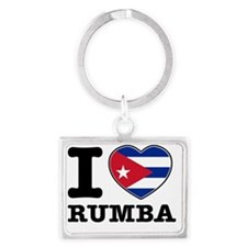 rumba Landscape Keychain