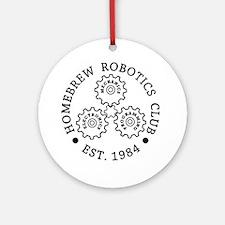 HBRC_Logo_v201_01_black_ink (1) Round Ornament