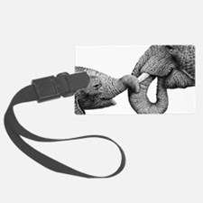 Holding Tight (12x20) Car Magnet Luggage Tag