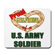 Proud Army Girlfriend Mousepad