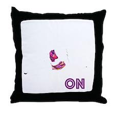 G Black App D2_2 Throw Pillow