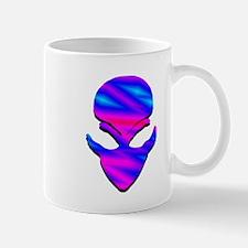 Alien Pink N Blue Mug