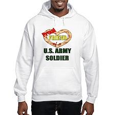 Proud Army Friend Hoodie
