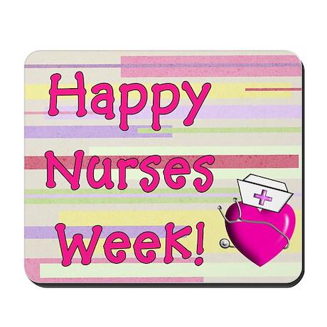 Happy Nurses week PINK NEW Mousepad