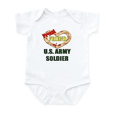Proud Army Friend Infant Bodysuit
