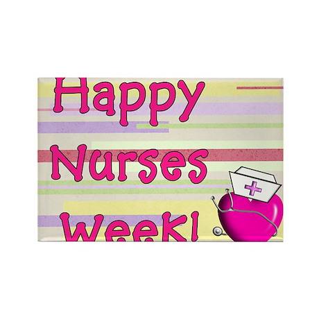 Happy Nurses week PINK NEW Rectangle Magnet