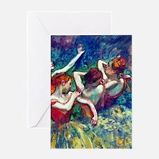 FF Degas 4Dancers Greeting Card