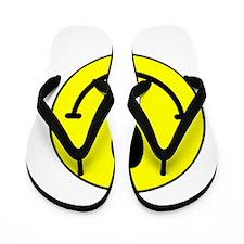 MutantsWhite12x12TRANS Flip Flops