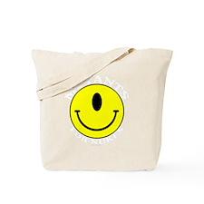 MutantsWhite12x12TRANS Tote Bag