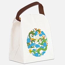 tai45dark Canvas Lunch Bag