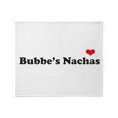 Bubbe's Nachas Throw Blanket