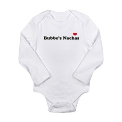 Bubbe's Nachas Long Sleeve Infant Bodysuit