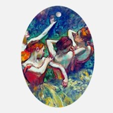 K/N Degas 4Dancers Oval Ornament
