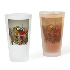 1850x1600 scarlet and blue and gold Drinking Glass