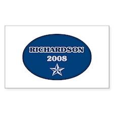 Richardson for President Rectangle Decal