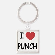 PUNCH Square Keychain