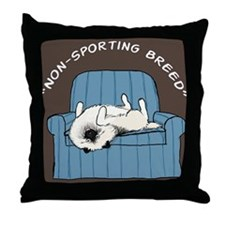 nonsportingipad Throw Pillow