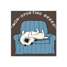 "nonsportingnook Square Sticker 3"" x 3"""