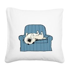 nonsportingdrk Square Canvas Pillow