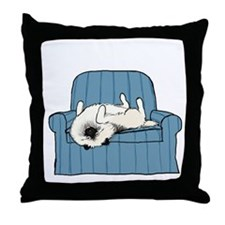 nonsportingdrk Throw Pillow