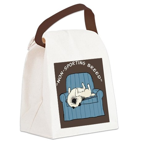 nonsportingwallet Canvas Lunch Bag