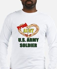 Proud Army Aunt Long Sleeve T-Shirt