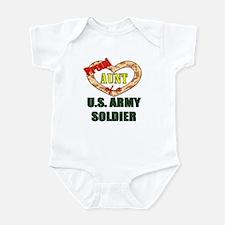 Proud Army Aunt Infant Bodysuit