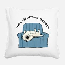 nonsportingdrk2 Square Canvas Pillow