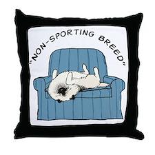 nonsportingdrk2 Throw Pillow