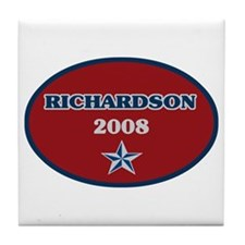Bill Richardson 2008 Tile Coaster