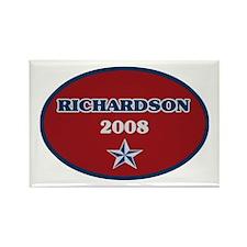 Bill Richardson 2008 Rectangle Magnet