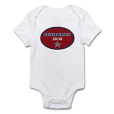 Bill Richardson 2008 Onesie