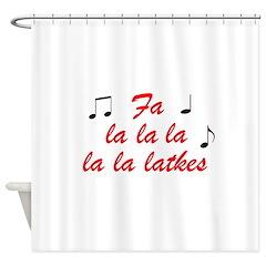 falalalalalalatkes Shower Curtain