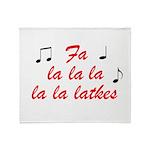 falalalalalalatkes Throw Blanket