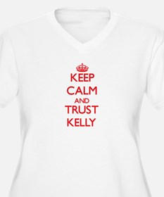 Keep Calm and TRUST Kelly Plus Size T-Shirt