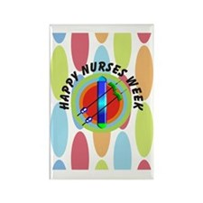 dialysis Happy nurses week CP BIG Rectangle Magnet