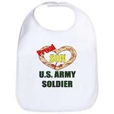 Proud Army Son Bib